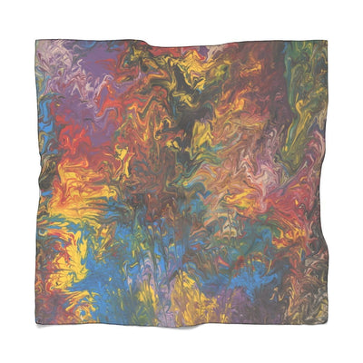 Rendezvous of Color Poly Scarf - Fiercely Fem