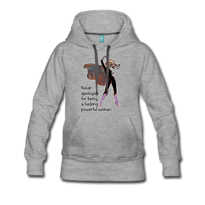 Powerful - Women's Premium Hoodie - Fiercely Fem