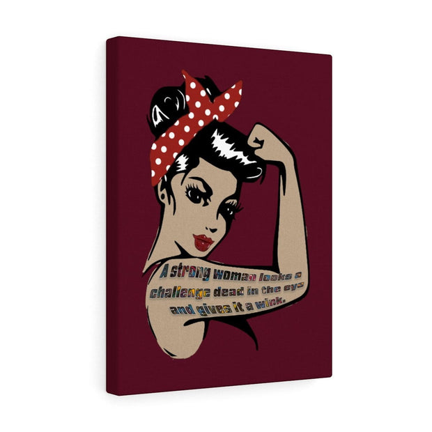 Wink - Canvas Gallery Wraps - Fiercely Fem