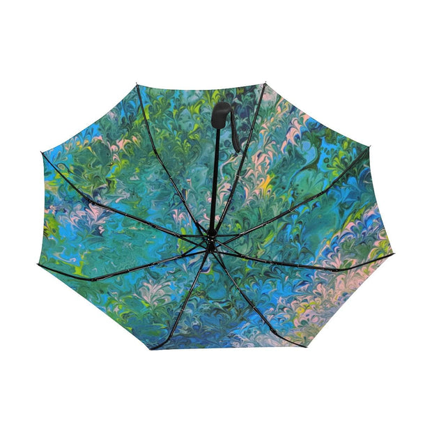 Rhapsody in Blue - Anti-UV Automatic Umbrella
