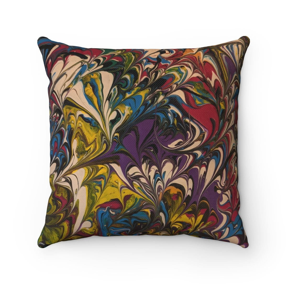 Against the Wind - Spun Polyester Square Pillow - Fiercely Fem