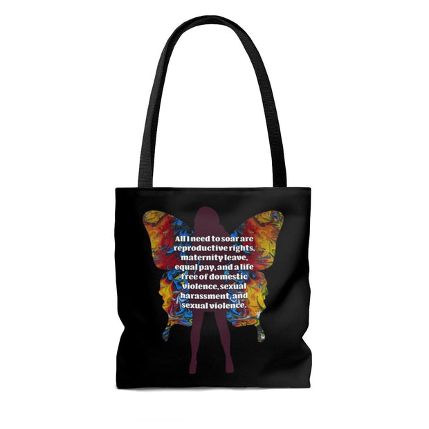 All I Need - Tote Bag (Black) - Fiercely Fem