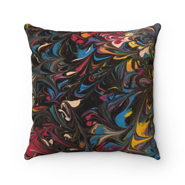Belle Folie - Spun Polyester Square Pillow - Fiercely Fem