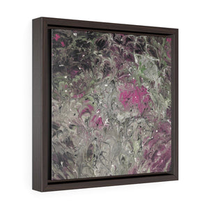 Hot Mess - Square Framed Premium Gallery Wrap Canvas