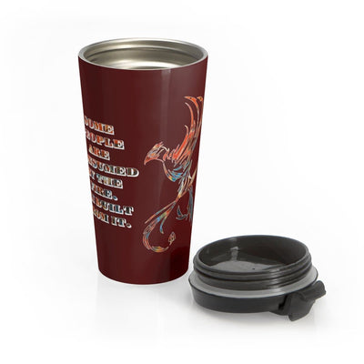Built From Fire - Stainless Steel Travel Mug
