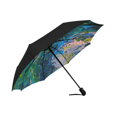 Blue Lagoon - Anti-UV Automatic Umbrella
