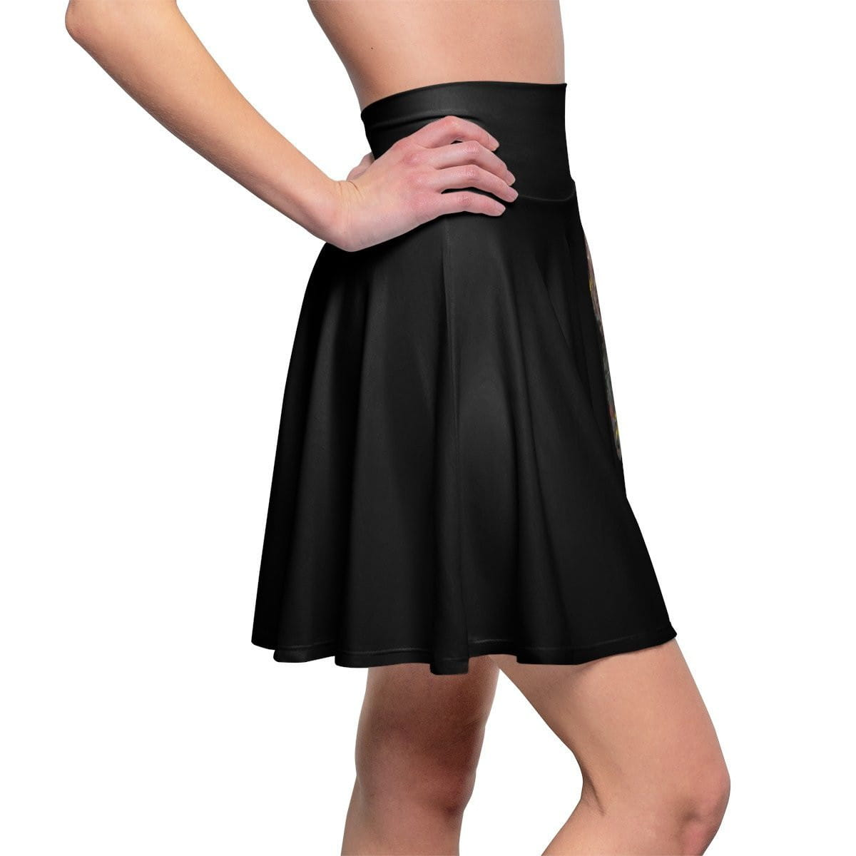 The SHE-La Skater Skirt - Black - Fiercely Fem