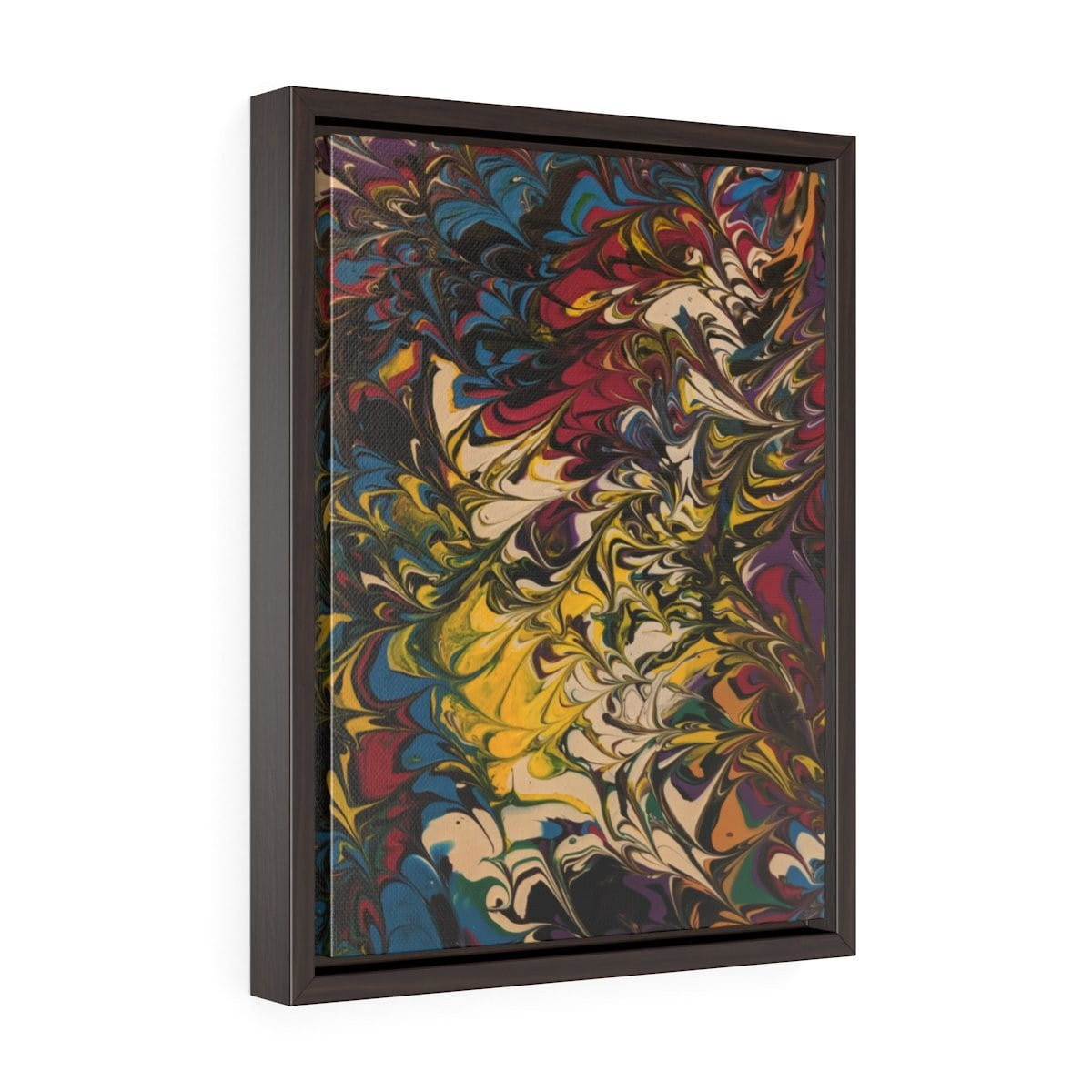 Escape Reality - Vertical Framed Premium Gallery Wrap Canvas - Fiercely Fem