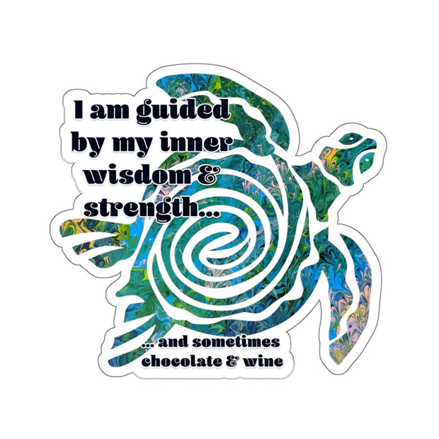 Wisdom & Strength - Kiss-Cut Sticker - Fiercely Fem