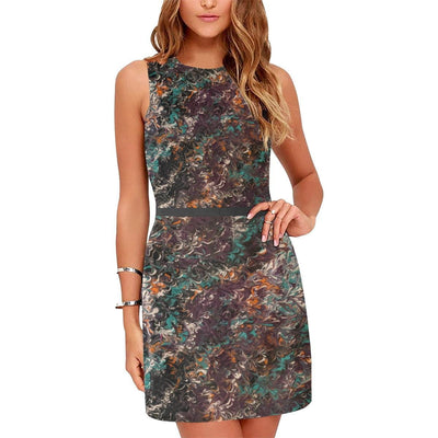 Mélange - Sleeveless Dress - Fiercely Fem