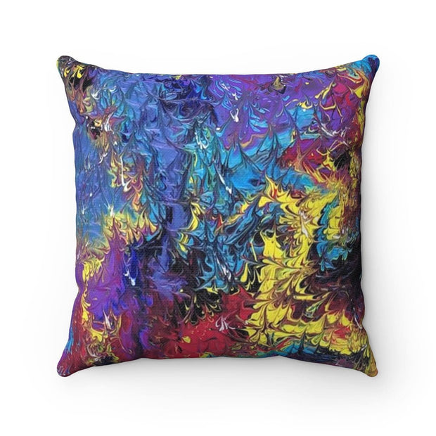 Mistress Matters - Spun Polyester Square Pillow - Fiercely Fem