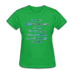 Worth - Women's Basic Tee - bright green
