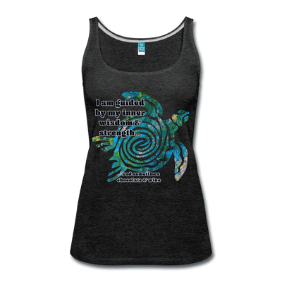 Wisdom & Strength - Women's Premium Tank Top - Fiercely Fem