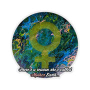 Mother Earth - Kiss-Cut Sticker - Fiercely Fem
