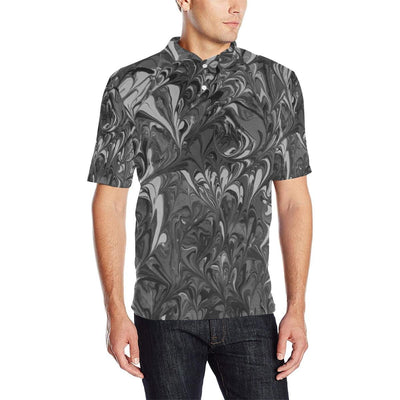 Fiercely Shades of Gray - Men's Polo Shirt - Fiercely Fem