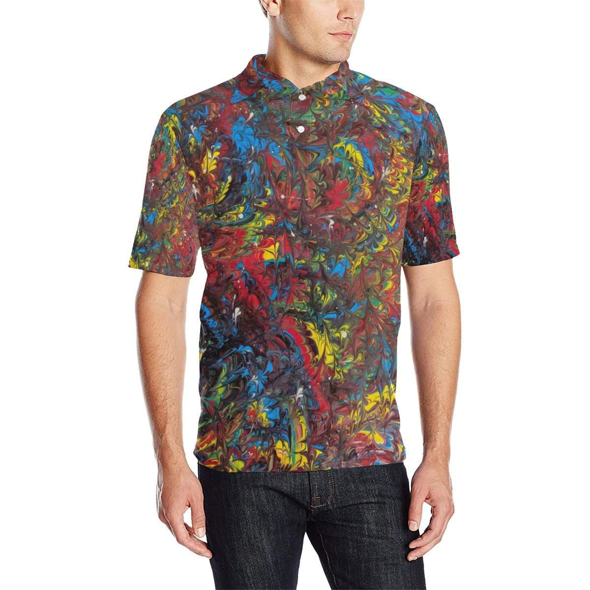 Pride Inspired - Men's Polo Shirt - Fiercely Fem