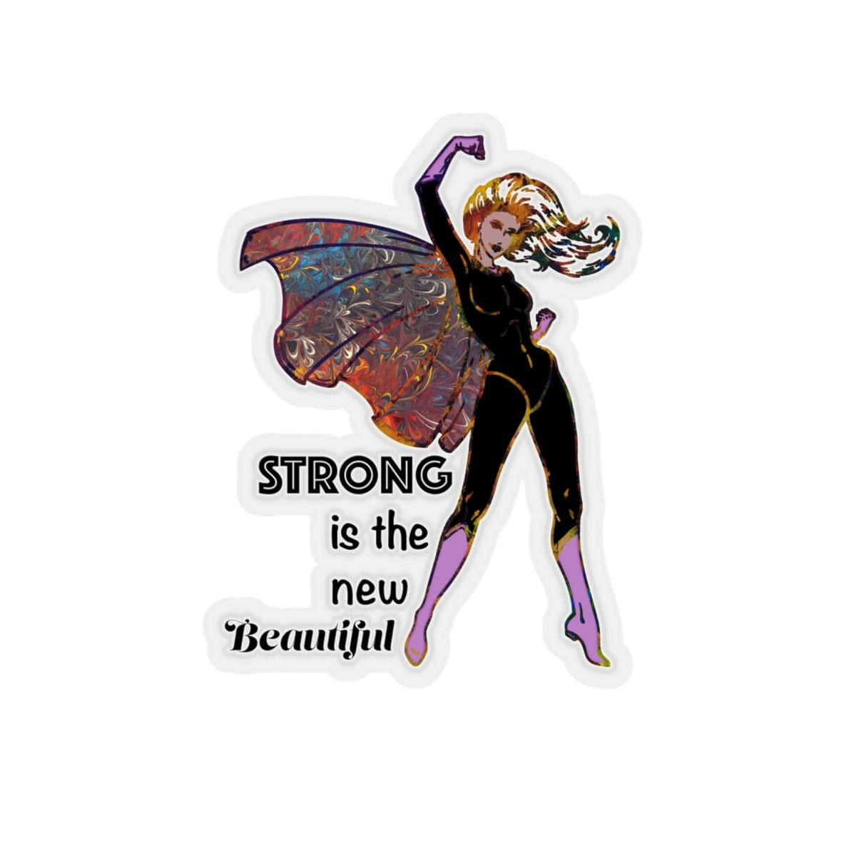 Strong - Kiss-Cut Sticker - Fiercely Fem