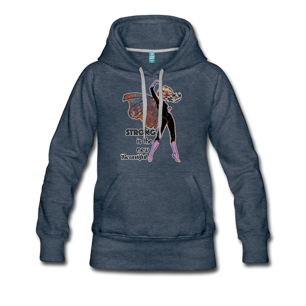 Strong - Women's Premium Hoodie - Fiercely Fem