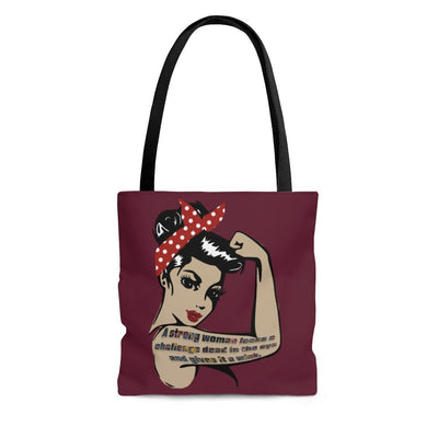 Wink Tote Bag - Fiercely Fem