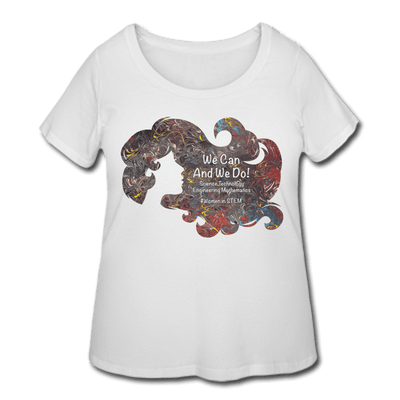 STEM Women's Curvy Tee - Fiercely Fem