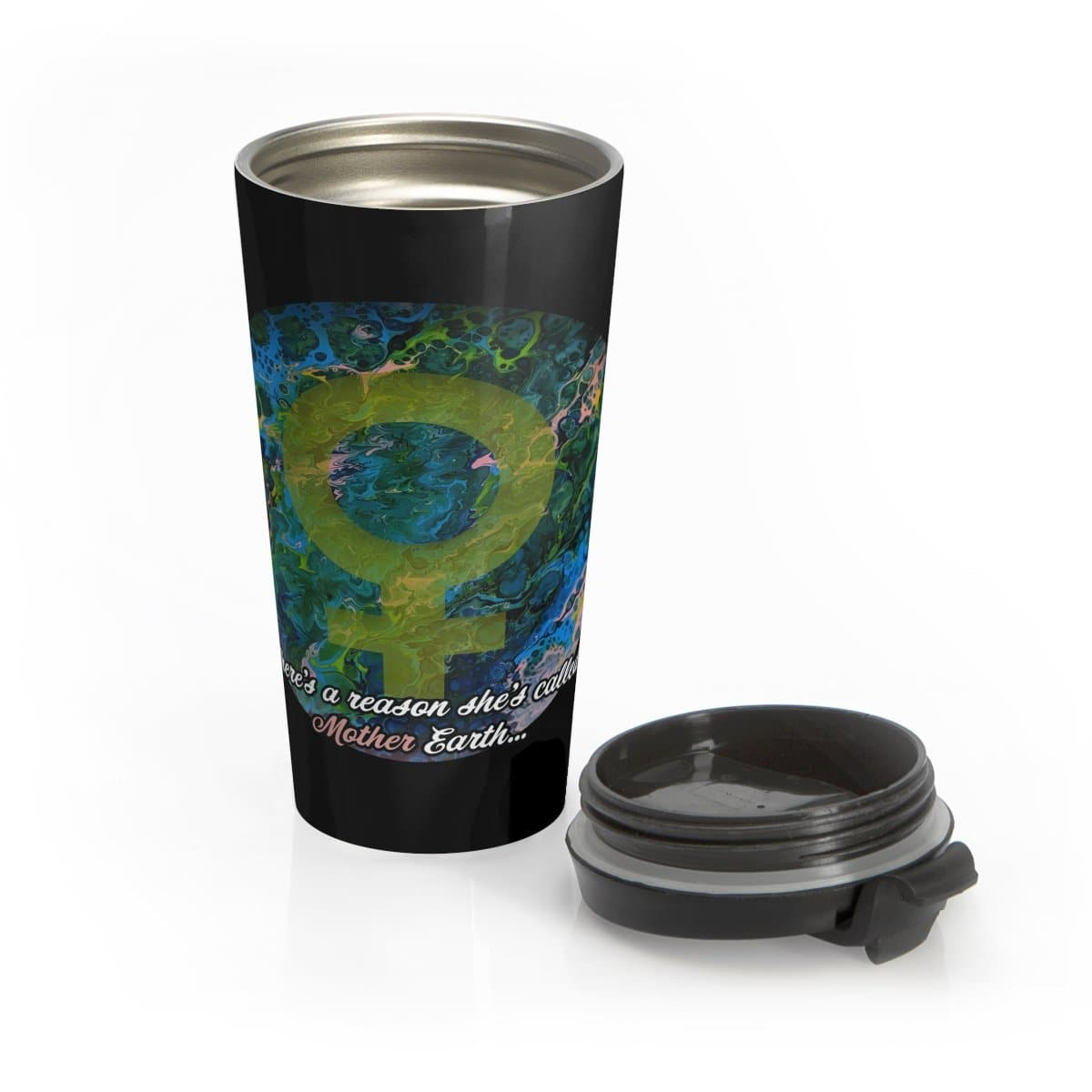 Mother Earth - Stainless Steel Travel Mug