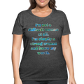 Worth - Women's Curvy Tee - deep heather