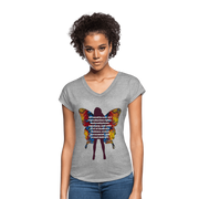 All I Need - Women's Tri-Blend V-Neck Tee - Fiercely Fem