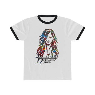True Colors - Unisex Ringer Tee - Fiercely Fem