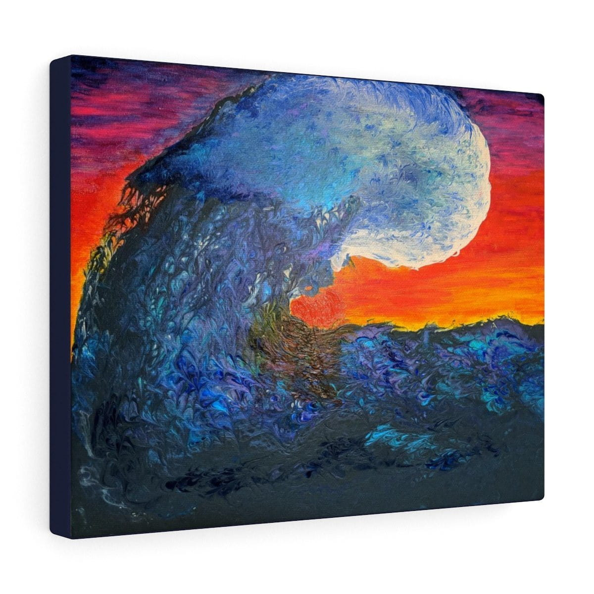 Crashing Wave - Canvas Gallery Wraps - Fiercely Fem
