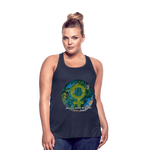 Mother Earth - Women's Flowy Tank Top by Bella - Fiercely Fem
