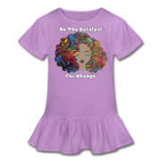 Catalyst - Girl's Ruffle Tee - lavender