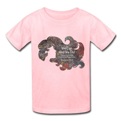 STEM - Kids' T-Shirt - Fiercely Fem