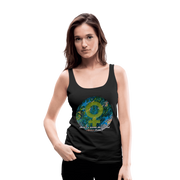 Mother Earth - Women's Premium Tank Top - Fiercely Fem