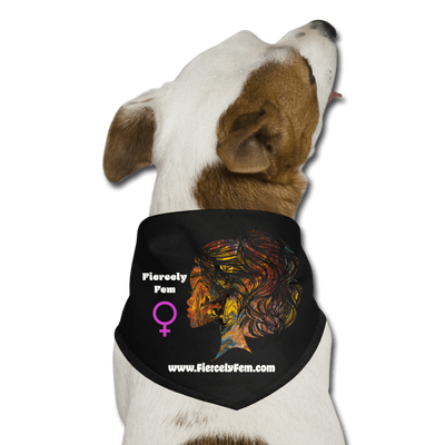 Fiercely Fem Dog Bandana - Fiercely Fem