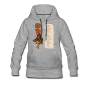 I Am - Women's Premium Hoodie - Fiercely Fem