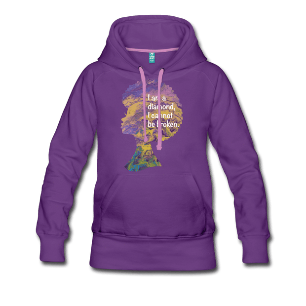 Diamond - Women's Premium Hoodie - Fiercely Fem