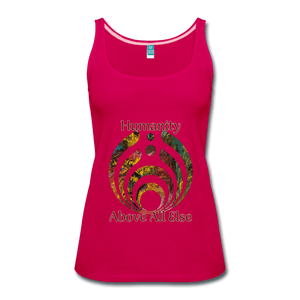Humanity - Women's Premium Tank Top - Fiercely Fem