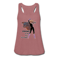 Strong - Women's Flowy Tank Top by Bella - Fiercely Fem