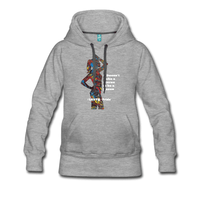 Queen - Women's Premium Hoodie - Fiercely Fem