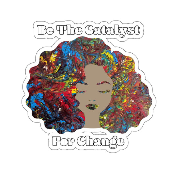 Catalyst - Kiss-Cut Sticker - Fiercely Fem