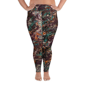 Mélange - Plus Size Leggings - Fiercely Fem