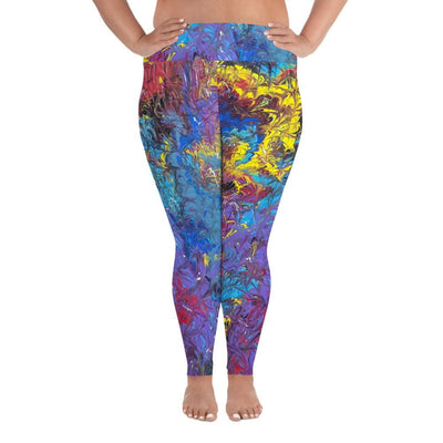 Mistress Matters - Plus Size Leggings - Fiercely Fem