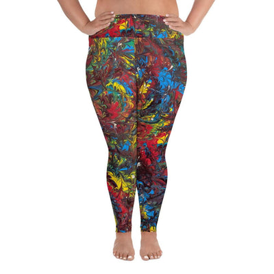 Pride Inspired - Plus Size Leggings - Fiercely Fem
