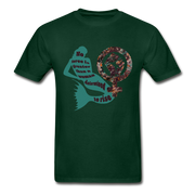 Black Female Rise - Unisex Tee - forest green
