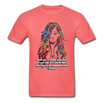 Courage - Unisex Tee - coral