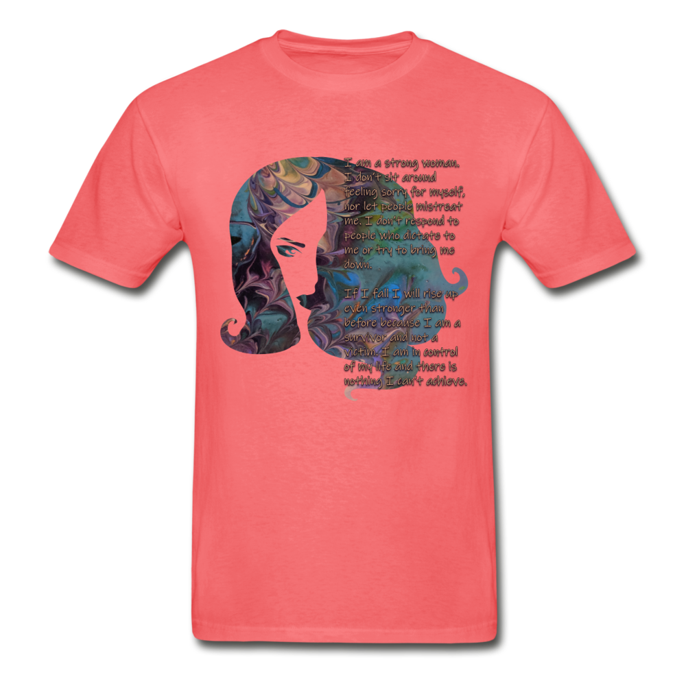 Stronger - Unisex Tee - coral