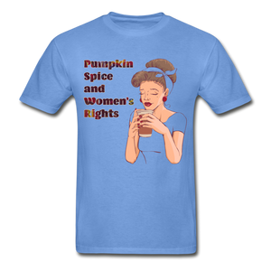 Pumpkin Spice - Unisex Tee - carolina blue