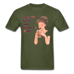 Pumpkin Spice - Unisex Tee - military green