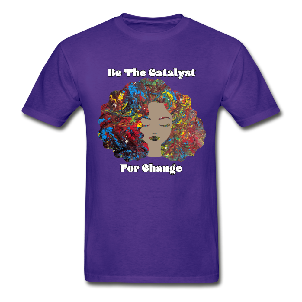 Catalyst - Unisex Tee - purple