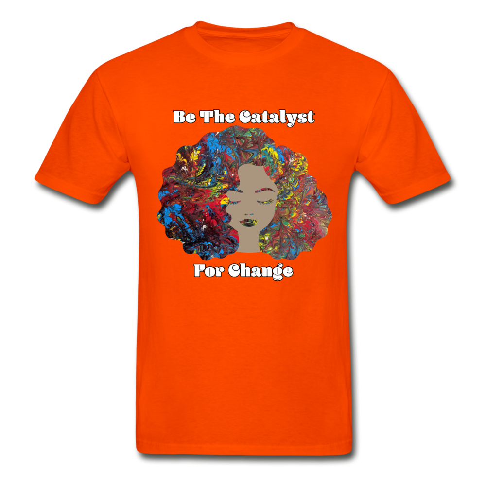 Catalyst - Unisex Tee - orange